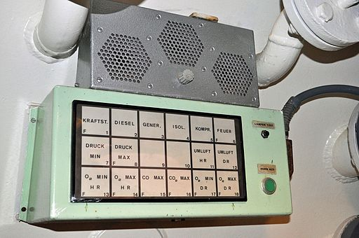 Control Panel in UWL Helgoland